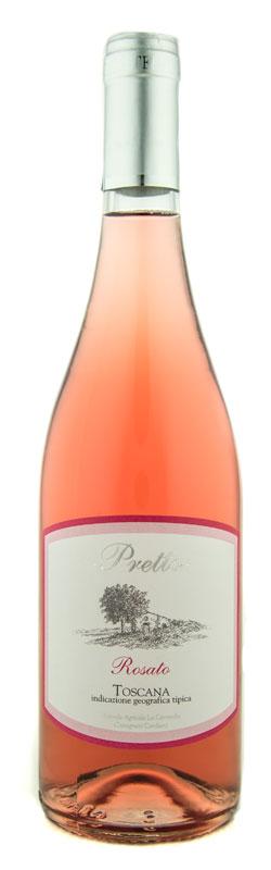 vino Pretto igt toscana rosato cerretella