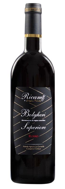 vino Il Ricamo Bolgheri superiore